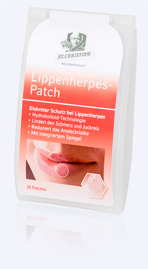 Lippenherpes-Patch